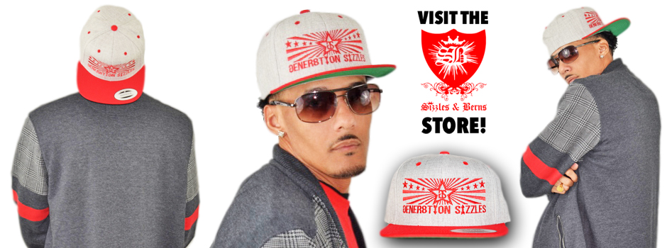 GS Star Stripes – Grey/Red Snapback