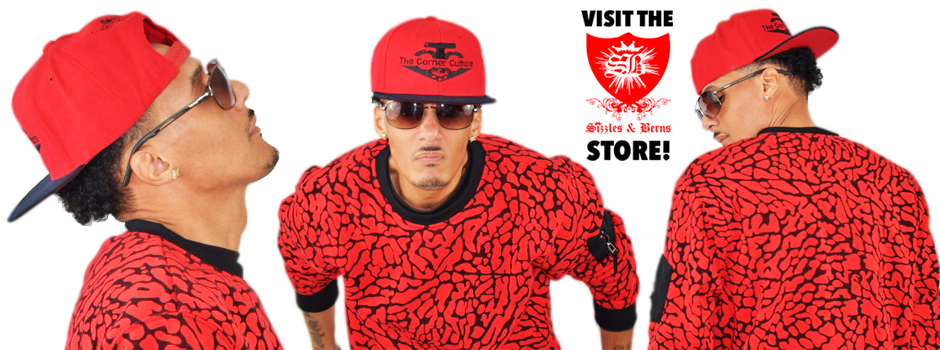 The Corner Culture – Red/Black Snapback